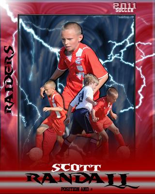 Soccer lightning design